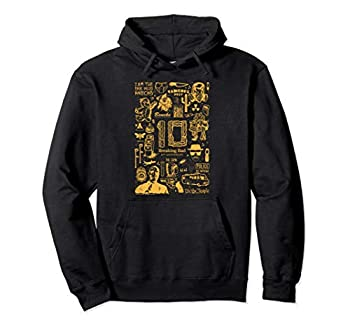 Breaking Bad 10th Anniversary Yellow Symbols Collage Pullover Hoodie