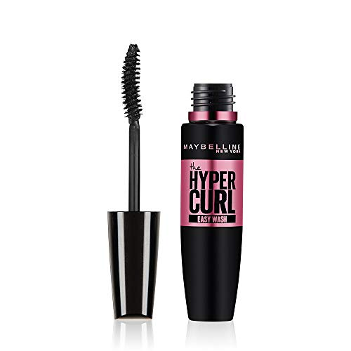 Maybelline New York Hypercurl Mascara Washable, Black, 9.2ml