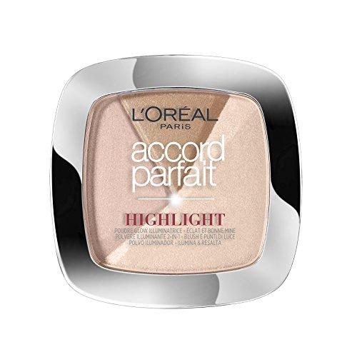 L'Oréal Paris Accord Parfait Highlight Enlumineur Poudre 202 Rosé