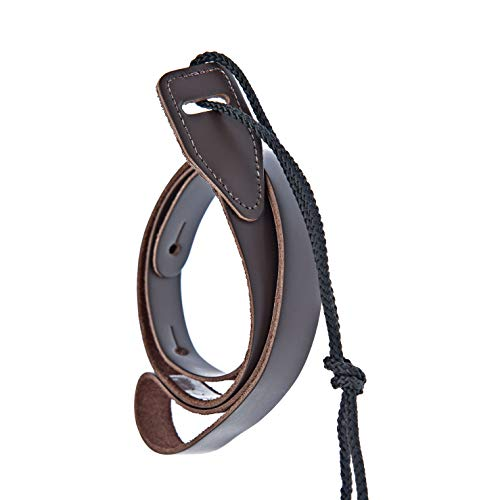 D'Addario Leather Mandolin Strap Brown (75M01)