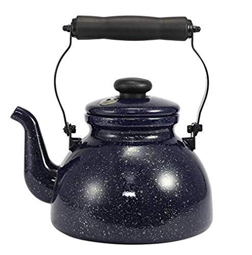 GUOCAO Juegos de té Tea Pots esmaltado Hervidor teteras Ollas 2,0 l Cerámico