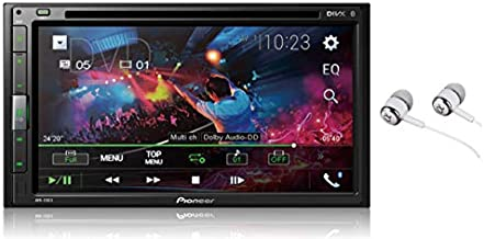 Pioneer FH-X730BS Double-Din In-Dash CD Digital Music Player Receiver With Mixtrax