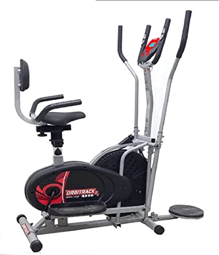 Duro Fitness 2950 Rx Orbitrack Bike Exercise Cycle With Moving Handles, Adjustable Cushioned Seat and Back ( 5 in 1 )