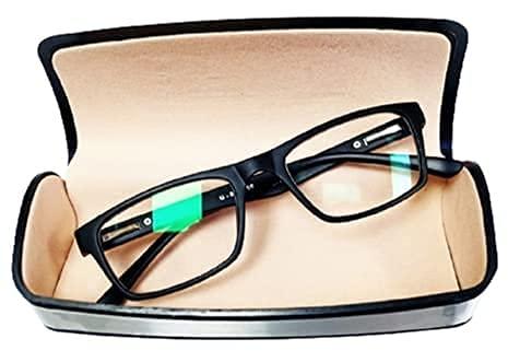 GLEBIX Eye Protection Blue Cut Computer Glasses Blue Light Blocking Glasses for Men Women with Anti Glare and Blue Ray Filter Eyeglasses Laptop & Digital screen blue cut lenses,spectacles (zero power)Unisex,Set-1