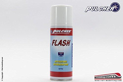 Pulcher dbp006–Activador accelleratore Spray Flash para pegamento Cianocrilato 200ml