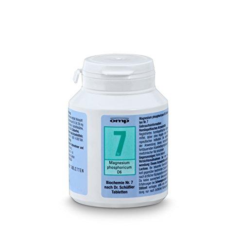 Schüssler Salz Nr. 7 Magnesium phosphoricum D6   400 Tabletten   Das Salz der Muskeln und...