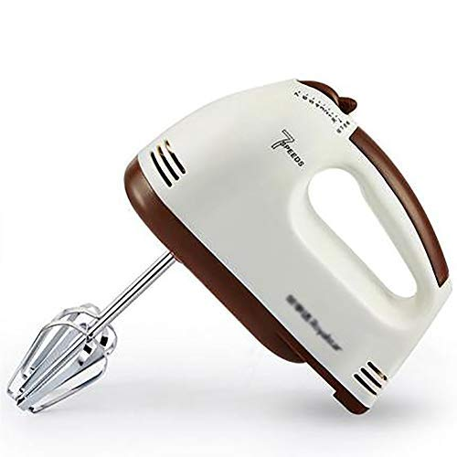 PLEASUR - Batidora de varillas, eléctrica, mini herramienta de repostería, rápida regulación...