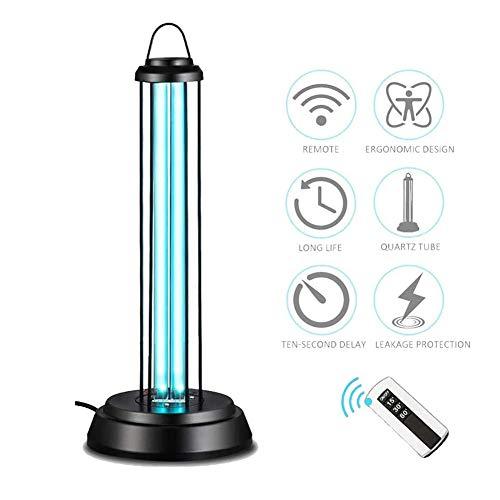 YANGM 36W UVC lamp Desinfectie UV Ozon germicide Licht Hoek wordt uitgebreid door 360 Graden Derde Gear Timing, Afstandsbediening Handig voor Thuis, Hotel, Zakelijke Trip, Office