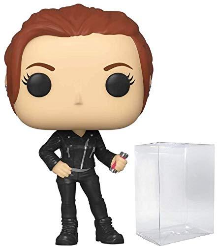 Natasha Romanoff #603 Pop Marvel: Black Widow Vinyl Figure (Bundled with EcoTEK Plastic Protector to Protect Display Box)