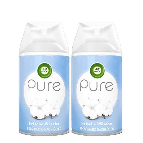 Air Wick Freshmatic Max PURE – Ricarica per Air Wick Freshmatic Max – Profumo: freschezza – 2 ricariche da 250 ml