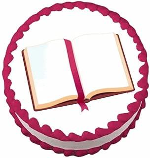 Open Bible ~ Edible Cake / Cupcake Topper