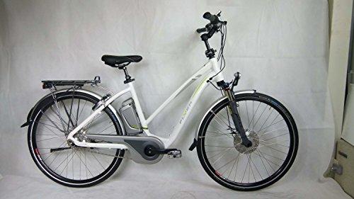 E-Bike Flyer T8 Trapezium, maat M wit vrijloop roller Levering 50 cm 15 AH accu