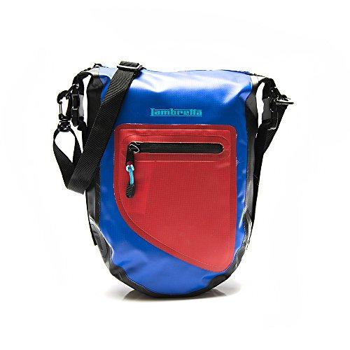 Lambretta Umhängetasche, wasserdicht, Messenger-Tasche, 35 cm, blau (Blau) - LASC12