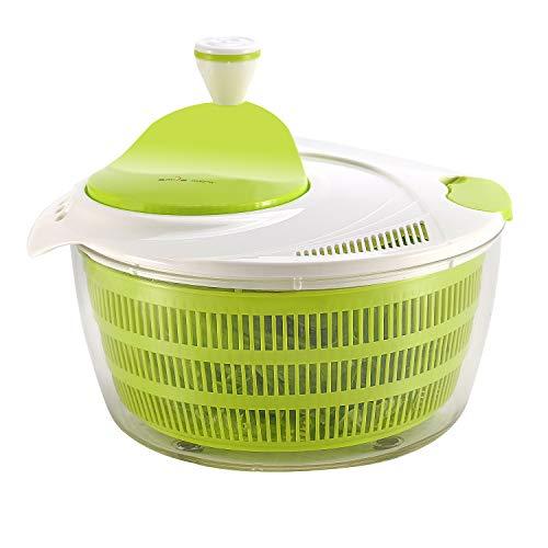 Smile Mom Küchen Salatschleuder 4 Liter Schnell Gemüse Trockner-BPA Kostenlos