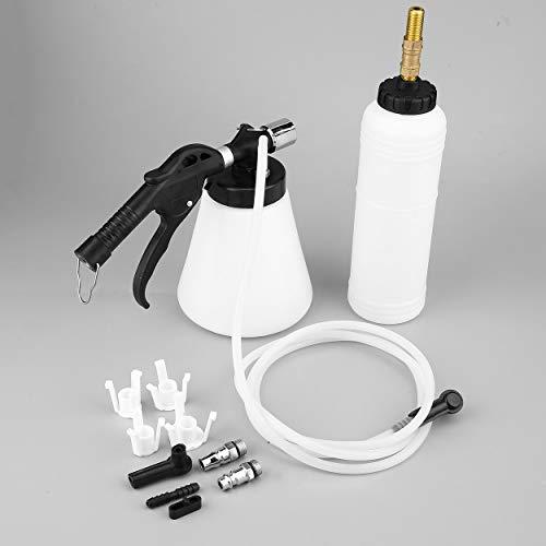 Air Pneumatic Vacuum Tool 90-120PSI Car Brake System Fluid Oil Bleeder Hydraulic Van Brake Clutch Bleeder Fluid Change Kit