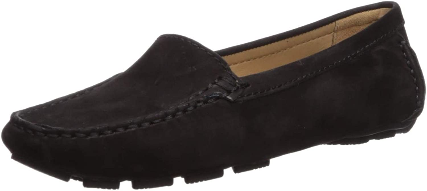 Driver Club USA Womens Womens Genuine Leather Made in Brazil Hampton Loafer Loafer