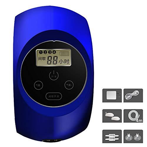H&RB Aquarium Luftpumpe, Tragbare USB Aufladbare Splash Proof Outdoor Angeln Sauerstoffpumpe Ultra Quiet Belüfter Luftvolumen 8L / MIN