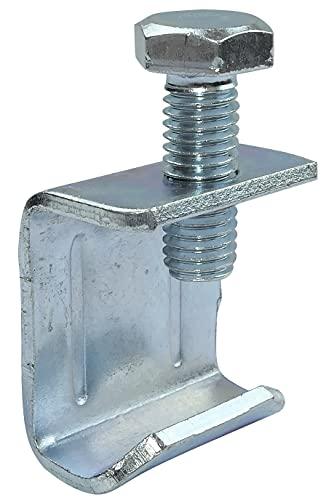 AERZETIX - Juego de 20 garras rápidas ''abrazadera marco'' para conductos rectangulares de ventilación/aire acondicionado - clips de perno - distancia entre 2 lados opuestos de la garra 23mm - C49890