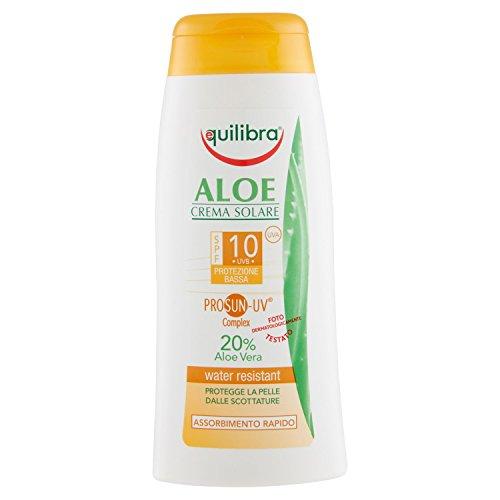 aloe crema solare spf 10 200 ml