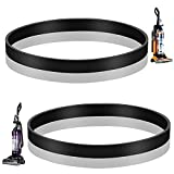 MEROM Replacement Belts Compatible with Eureka Upright Vacuum Cleaner, Type W 12.8X429 Belt Fits Model AS5210A, AS3011A, AS3030 Series, Replace Part Number 67037, 67037D, 86389, E-86389 (2 Pack)