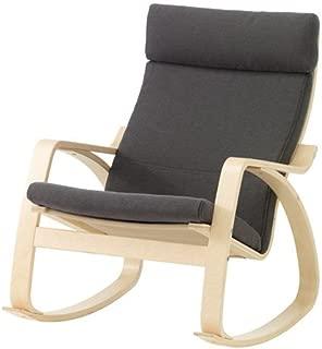 Ikea Rocking chair, birch veneer, Finnsta gray 2202.29214.3034