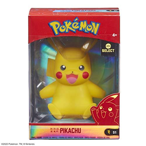 PoKéMoN Pikachu - Kanto Vinyl Figur (Wave 1) Unisex Colección de Figuras Standard, Vinilo,