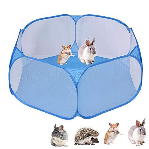 Betteros - Parque de Juegos para Mascotas Plegable con diseño de Animales pequeños, para jardín, Conejos, hámster, chinchetas y erizos en Todas Partes