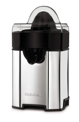Cuisinart CCJ-500CH Pulp Control Citrus Juicer, Polished Chrome