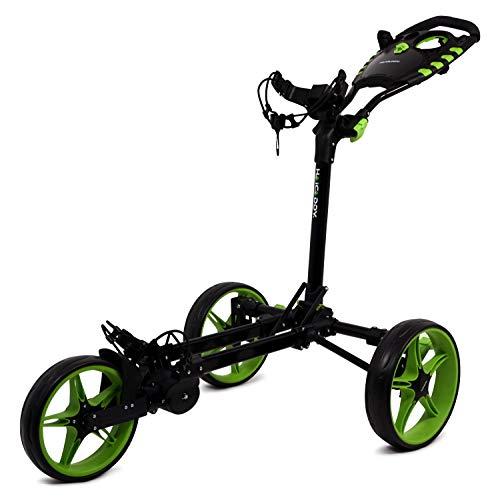 Tour made Haicaddy Travel Flat HC1 3 roues Push-Trolley de...
