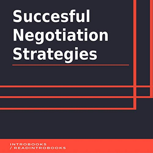 Couverture de Succesful Negotiation Strategies