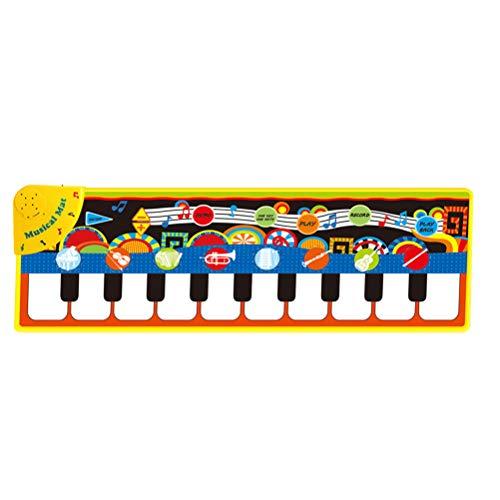 YeahiBaby Tappeto Musicale per Neonato Bambini Giocattoli Giochi educativi