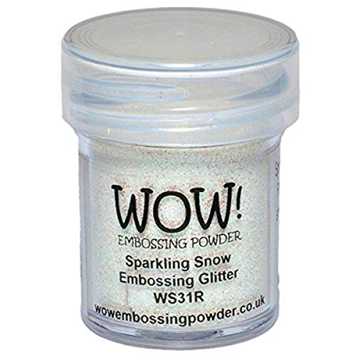 Wow Embossing Powder 15ml, Sparkling Snow