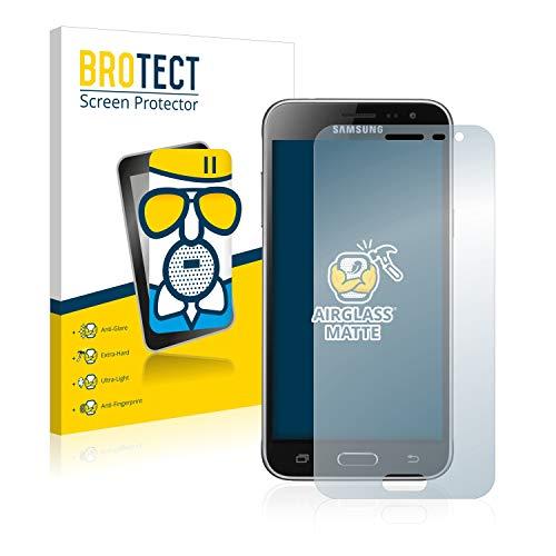 BROTECT Entspiegelungs-Panzerglasfolie kompatibel mit Samsung Galaxy J3 / J3 Duos (2016) - Anti-Reflex Panzerglas Schutz-Folie Matt