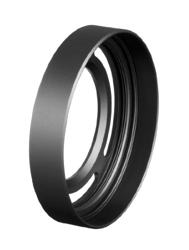 Fujifilm LH-X10 - Parasol para cámaras Digitales compactas Fujifilm X30, X20 y X10, Color Negro