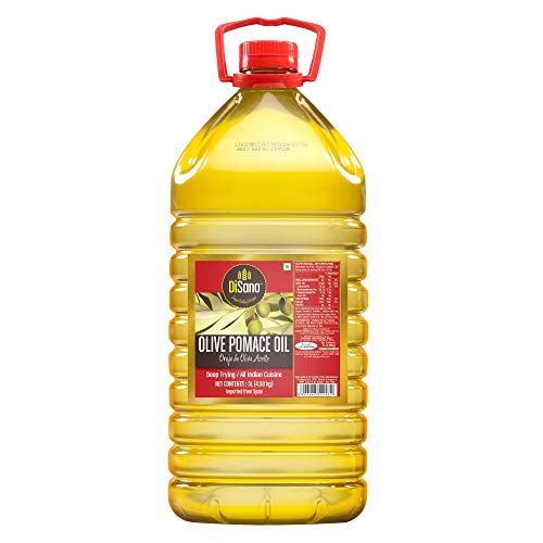 DiSano Olive Pomace Oil, Ideal for All Indian Cooking, 5L