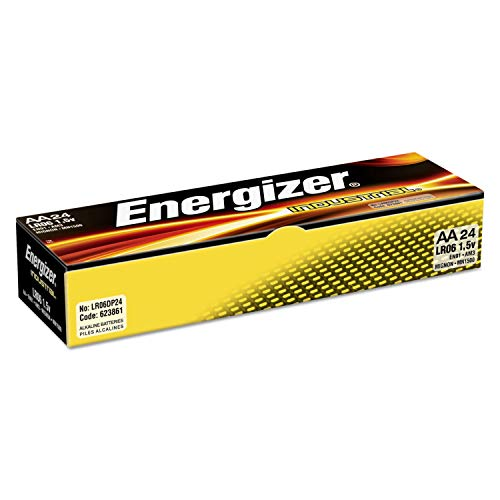Energizer, case pack 144 AA Industrial (Catalog Category: Batteries / AA Batteries)