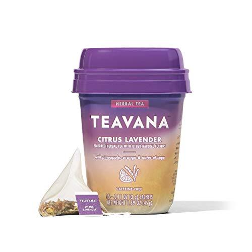 60-Count Teavana Citrus Lavender Herbal Tea (4 Packs x 15 Sachets) $10.45 w/ S&S + Free S&H w/ Prime or $25+