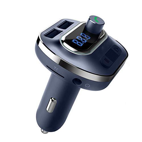Clydekaoyan Bluetooth 4.1 MP3 Player Radio Adapter Unterstützt über U-Disk/TF-Karte/Bluetooth-FM Transmitter Wiedergabe die CVC-Technologie zur Rauschunterdrückung von bis zu 32 G