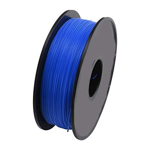BJYX 3D Printer Printing Filament 1.75mm 1KG Spool Accuracy PLA Material UK (Color : Blue)