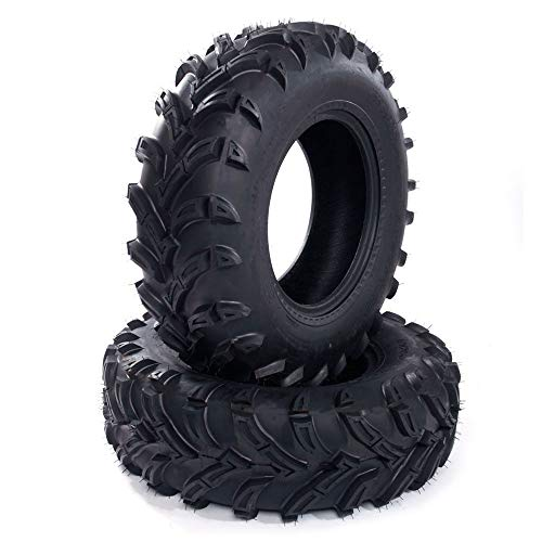 Million Parts ATV UTV 26X9-12 6PR Front Tires Compatible with 2008-2013 YAMAHA Rhino 700 & 2006-2015 Arctic Cat 700 (Pack of 2)