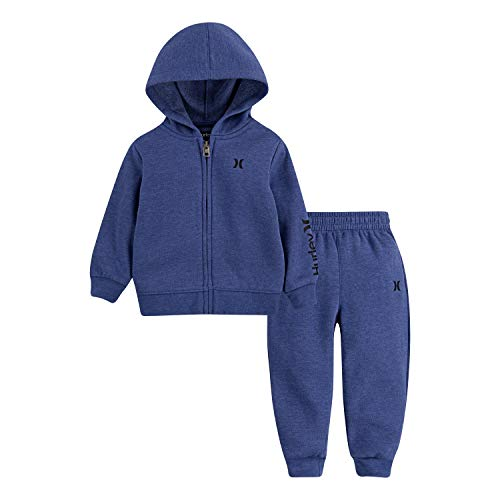Hurley Baby Boys' Hoodie and Joggers 2-Piece Outfit Set
