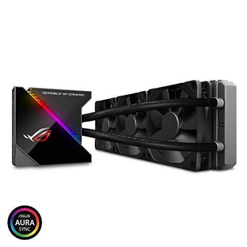 ASUS オールインワン型水冷 ユニット CPUクーラー ROG RYUJIN 360 / color OLED/Aura Sync RGB/120mm 口径 ...