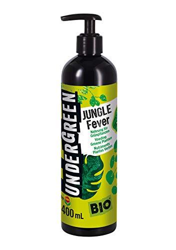 Undergreen Jungle Fever, Nahrung für alle Grünpflanzen im Zimmer oder auf dem Balkon, Bio-Flüssigdünger, 400 ml