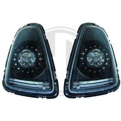 1206999 achterlichten zwart voor Mini One Cooper Clubman type R56/57 2006-2010