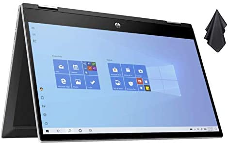 2021 Newest HP Pavilion X360 2 in 1 Convertible 14 HD Touch Screen Laptop 10th Gen Intel Core product image