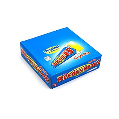 swizzels giant new refresher chew bar - pack of 60 Swizzels Giant New Refresher Chew Bar – Pack of 60 41pW526PY L
