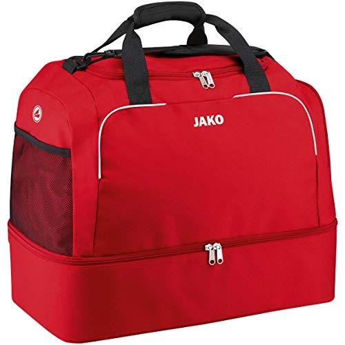 JAKO Sporttasche Classico mit Bodenfach, 60 cm, 80 L, Rot