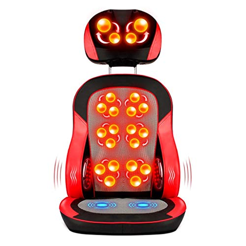 Great Price! Electric Massagers Cervical Massage Chair, Back, Kidney, Massage, Kneading,Heating Ther...