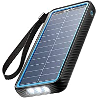 Anker PowerCore 10000mAh Solar Power Bank with 2 USB Charging Ports