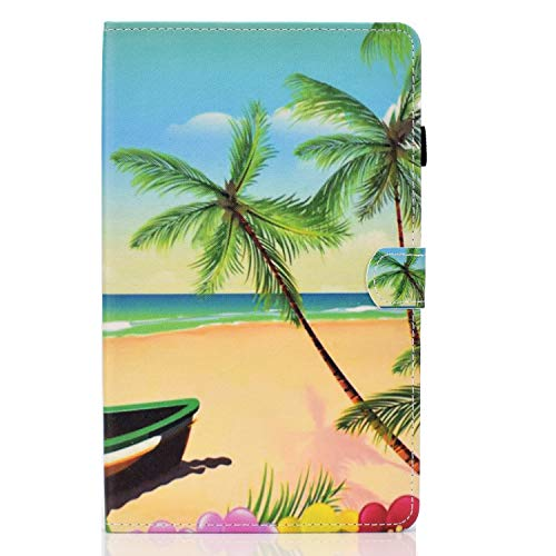zl one Compatible con/Reemplazo para Tablet PC Samsung Galaxy Tab S6 Lite 10.4 2020 SM-P610/P615 PU Cuero Flip Cover Stand Magnetic Wallet Case (Playa)